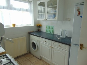 Fully Tiled Kitchen