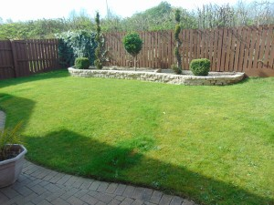 Delightful Sunny Private South Facing Rear Garden With Open Outlook