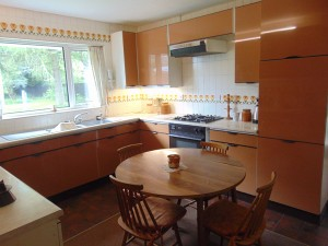 Part Tiled Dining/ Kitchen
