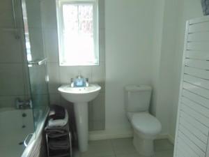 Newly Tiled Bathroom