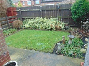 Pleasant Well Laid Out Rear Garden