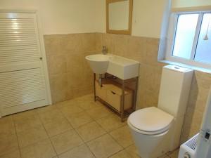 Part Tiled Bathroom