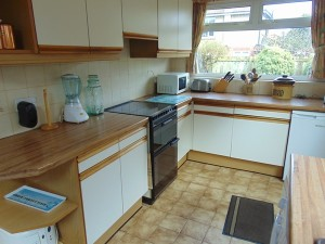 Half Tiled Kitchen