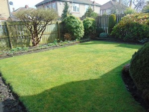 Well laid out gardens to front and rear