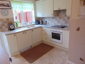Part Tiled Kitchen