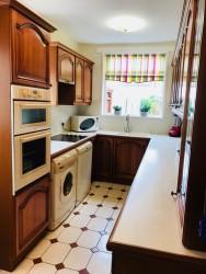 Part Tiled Kitchen