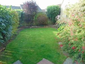 Pleasant Private Rear Garden