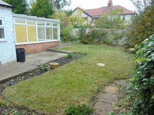 Pleasant Walled Garden to Rear