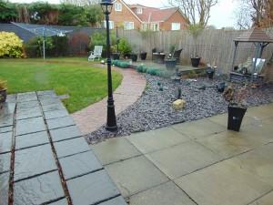 Beautiful Landscaped Sunny South Facing Rear Garden