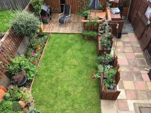 Beautiful Rear Garden Which Is Not Overlooked