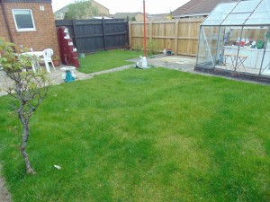 Pleasant Rear Garden Which Is Not Overlooked
