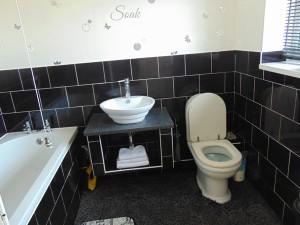 Half Tiled Bathroom