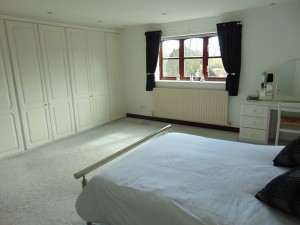 Master Bedroom with delightful views