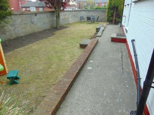 Well laid out gardens