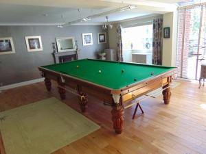 Games Room/Snooker Room