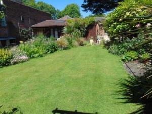 Beautiful Well Established Sunny Rear Garden