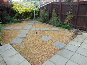 Pleasant Rear Garden