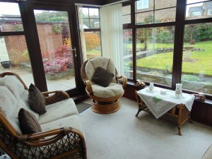 Conservatory Overlooking Beautiful Large Rear Garden