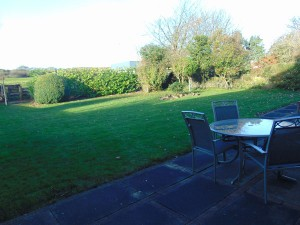 Beautiful Sunny South Facing Rear Garden With Uninterupted Views