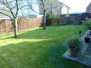 Beautiful Sunny Rear Garden Which Is Not Overlooked