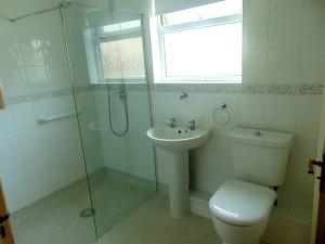Part Tiled Shower Room