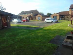 Well maintained communal garden