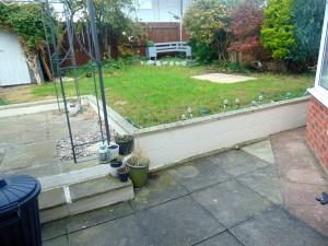 Pleasant Sunny Rear Garden