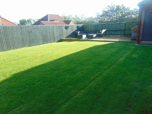 Sunny South Facing Rear Garden With Large Decked Area Ideal For Entertaining