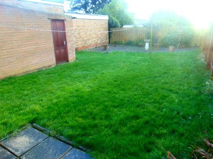 Pleasant Large Sunny Rear Garden