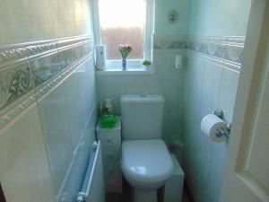 Half Tiled Separate Toilet