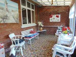 Sun Room Accessed From Rear Garden
