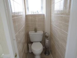 Fully Tiled Separate Toilet