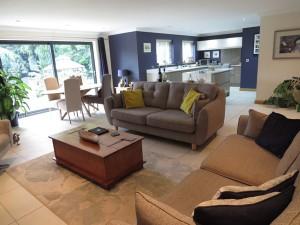 Fabulous Open Plan Family Room/Kitchen Overlooking Beautiful Private Sunny Rear Garden