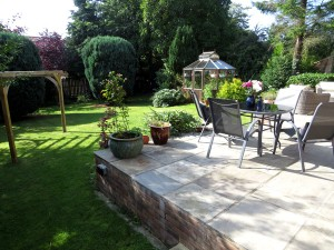 Beautiful Sunny South Facing Private Well Established Rear Garden